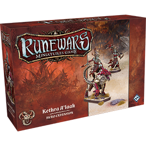 RuneWars Miniatures Game: Kethra Alaak