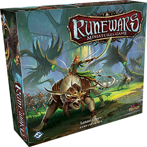 RuneWars Miniatures Game: Latari Elf Army Expansion
