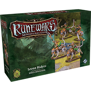 RuneWars Miniatures Game: Leonx Riders