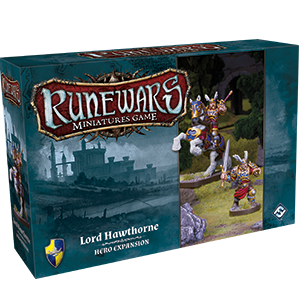 RuneWars Miniatures Game: Lord Hawthorne [SALE]