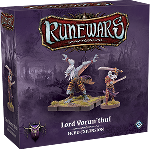 RuneWars Miniatures Game: Lord Vorunthul Hero Expansion