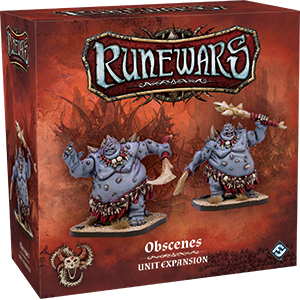 RuneWars Miniatures Game: Obscenes Unit Expansion
