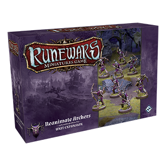 RuneWars Miniatures Game: Reanimate Archers [SALE]
