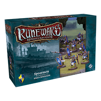 RuneWars Miniatures Game: Spearmen [SALE]