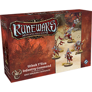 RuneWars Miniatures Game: Uthuk Yllan Infantry Command Unit Expansion