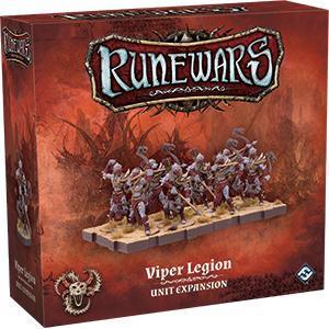 RuneWars Miniatures Game: Viper Legion Unit Expansion