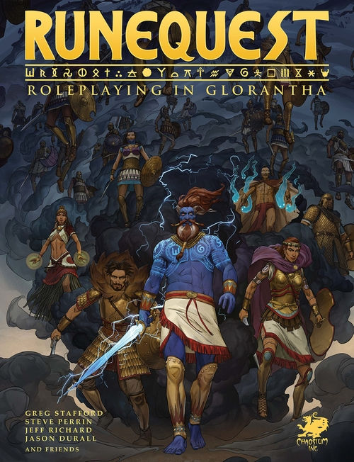 RUNEQUEST: ROLEPLAYING IN GLORANTHA IN DELUXE SLIPCASE