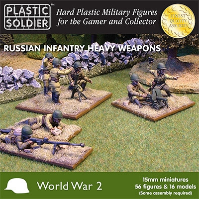 Plastic Soldier Company: 15mm Russian: Infantry Heavy Weapons