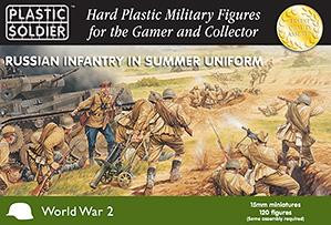 Plastic Soldier Company: 15mm Russian: Infantry in Summer Uniform