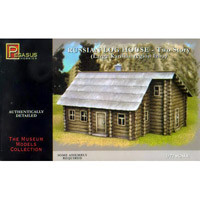 Pegasus Hobbies: Russian Log House Two Story