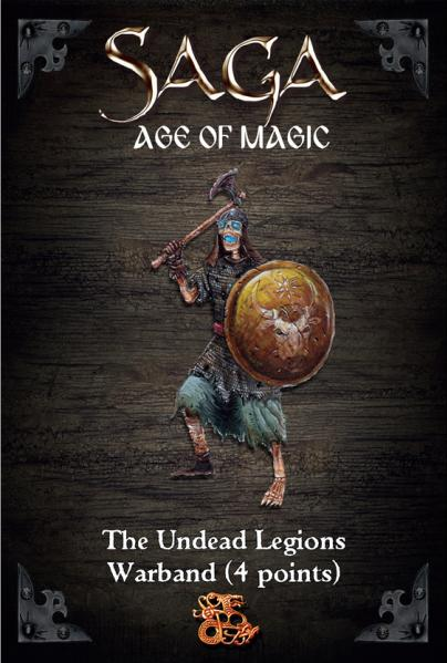 SAGA Age of Magic: Undead Legion Starter Warband (4 Points)
