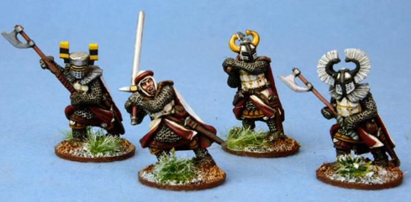 SAGA: Ordensstaat: Heathguards on Foot - Heavy Weapons