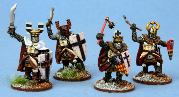 SAGA: Ordensstaat: Heathguards with Hand Weapons
