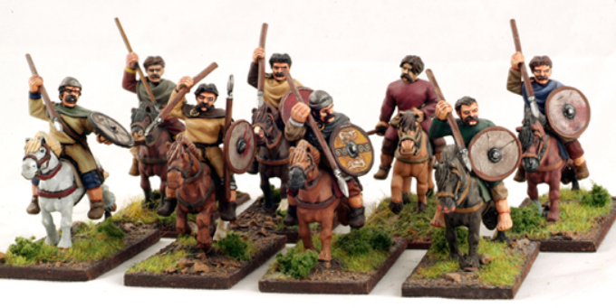 SAGA: Welsh: Mounted Welsh Warriors