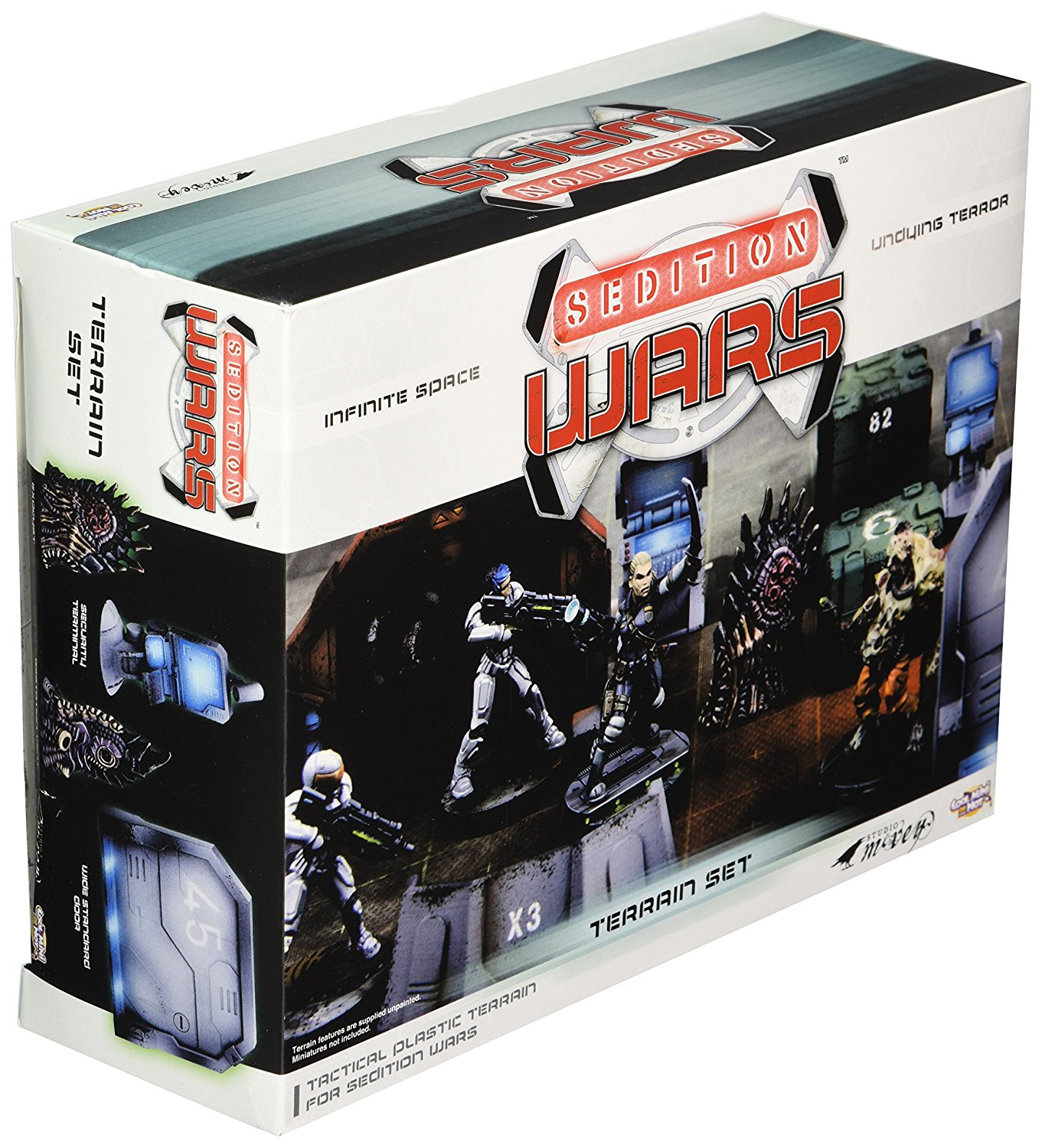 SEDITION WARS: TERRAIN SET (SALE)