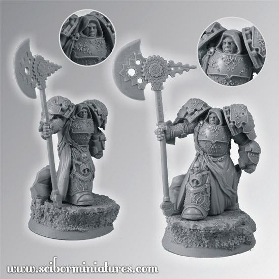 Scibor Monstrous Miniatures: SF Knight