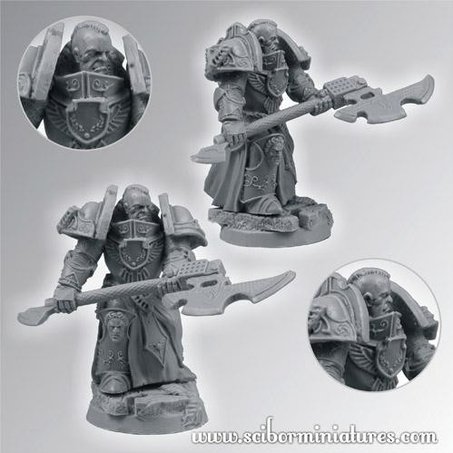 Scibor Monstrous Miniatures: SF Roman Legionary Veteran #1