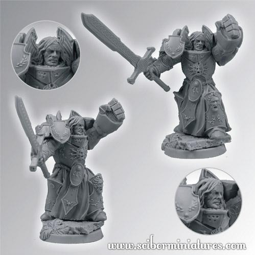 Scibor Monstrous Miniatures: SF Roman Legionary Veteran #2