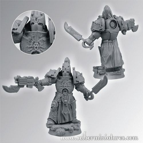 Scibor Monstrous Miniatures: SF Roman Legionary Veteran #3