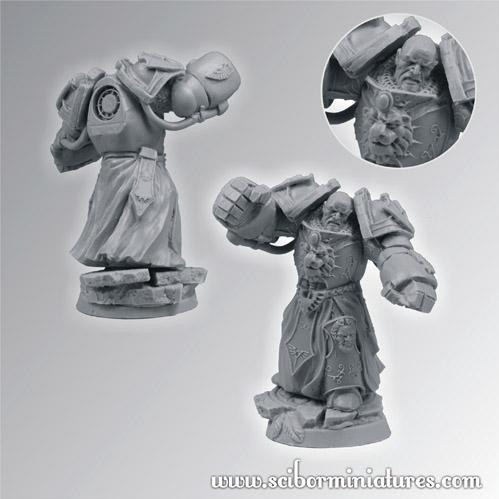 Scibor Monstrous Miniatures: SF Roman Legionary Veteran #4