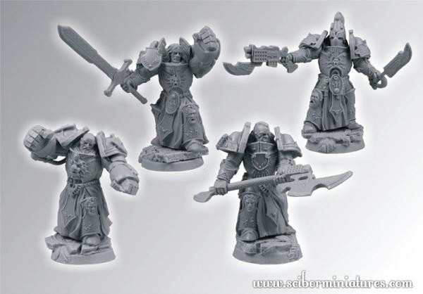 Scibor Monstrous Miniatures: SF Roman Legionaries Veterans Set