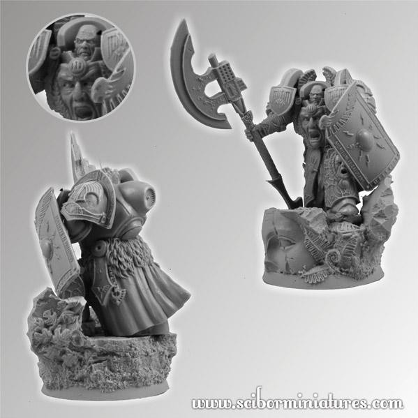 Scibor Monstrous Miniatures: SF Roman Pretorian Guard #2