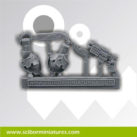Scibor Monstrous Miniatures: SF Roman Weapon #3