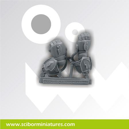 Scibor Monstrous Miniatures: SF Roman Weapon #4 (2)