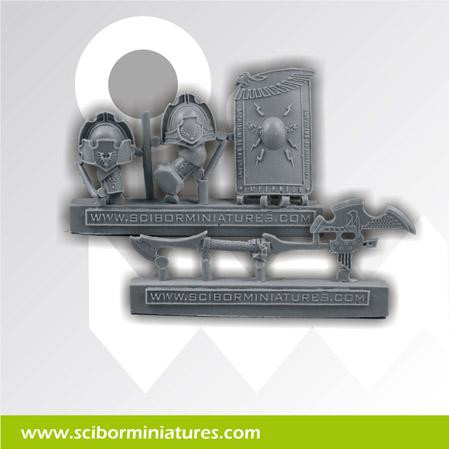 Scibor Monstrous Miniatures: SF Roman Weapon #5