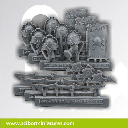 Scibor Monstrous Miniatures: SF Roman Weapons set
