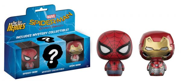 SPIDERMAN HOMECOMING- PINT SIZE HEROES 3-Pack #2