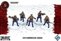Dust Tactics/ Warfare: SSU: Commissar Squad