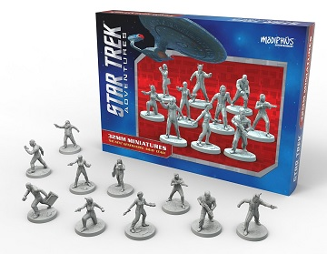 STAR TREK ADVENTURES: Away Team 32mm Miniatures