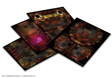 STAR TREK ADVENTURES: Klingon Tile Set
