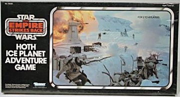 STAR WARS: HOTH ICE PLANET RETRO GAME