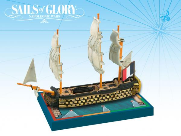 Sails of Glory: French Ship Of The Line: Imperial 1791 [Damaged]