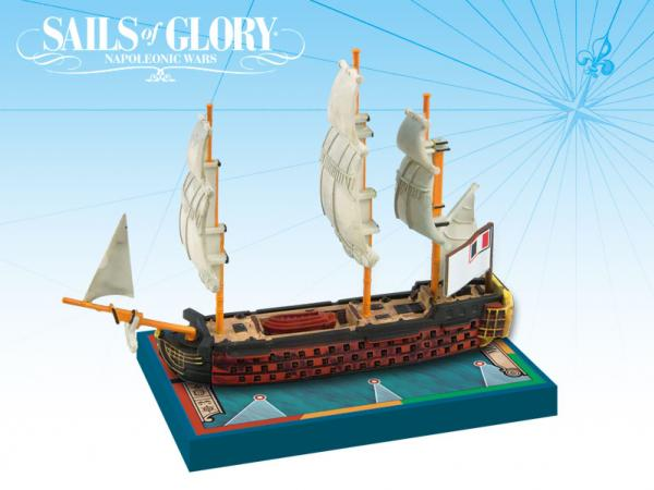 Sails of Glory: French Ship Of The Line: Montagne 1790 [Damaged]