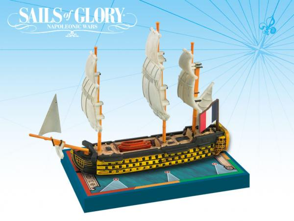 Sails of Glory: French Ship Of The Line: Orient 1791 [Damaged]