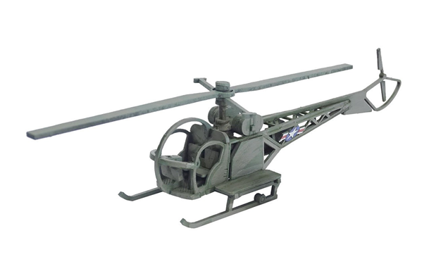 Sarissa Precision: Korean War - Sioux Helicopter