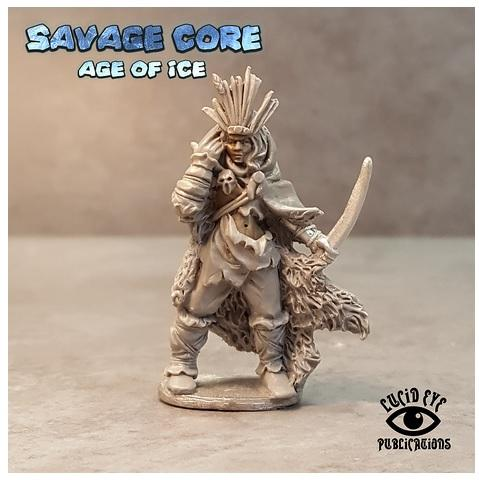 Savage Core- Age Of Ice: Amazon Boss Seratra the Foundling