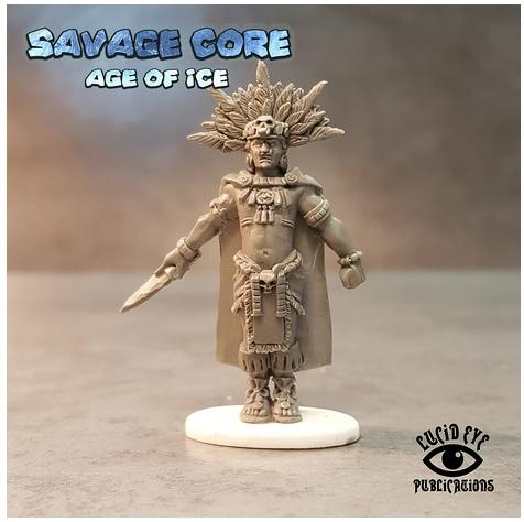 Savage Core- Age Of Ice: Jaguar Tribe Boss High Blood Priest Skull Cloud