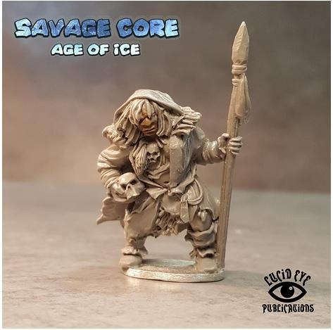 Savage Core- Age Of Ice: Neanderthal Boss Lame Getra Tribal Mother