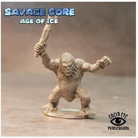 Savage Core- Age Of Ice: Simian Boss Vim the Mad