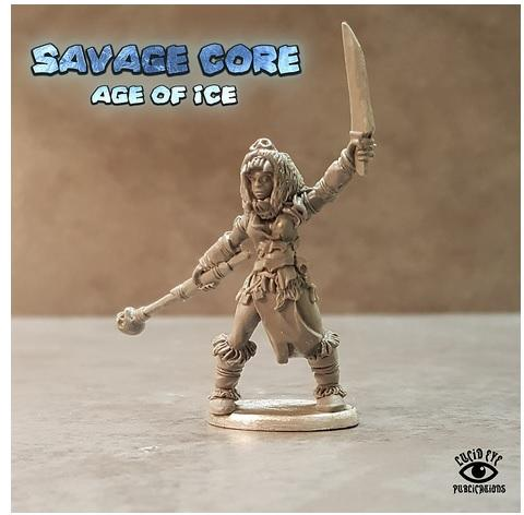 Savage Core- Age Of Ice: Vahira The Herd Witch