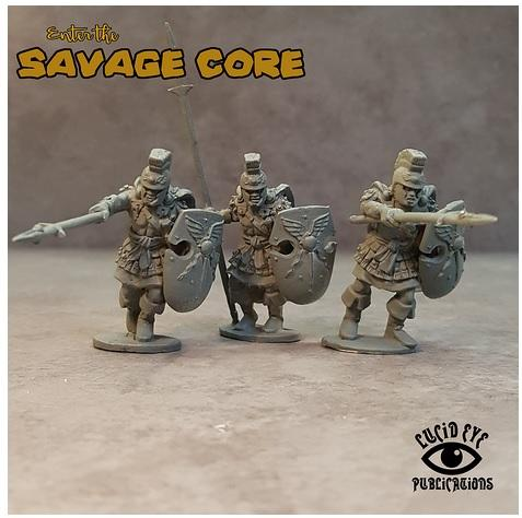 Savage Core Atlanteans Lucid Eye Publications