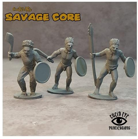 Savage Core: Jaguar Tribe Bods 1