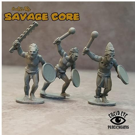 Savage Core: Jaguar Tribe Bods 2
