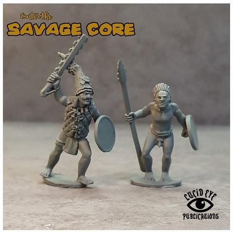 Savage Core: Jaguar Tribe Bosses Xachoti & Tupoc