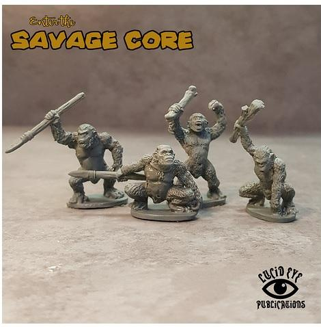 Savage Core: Simian Bods 1