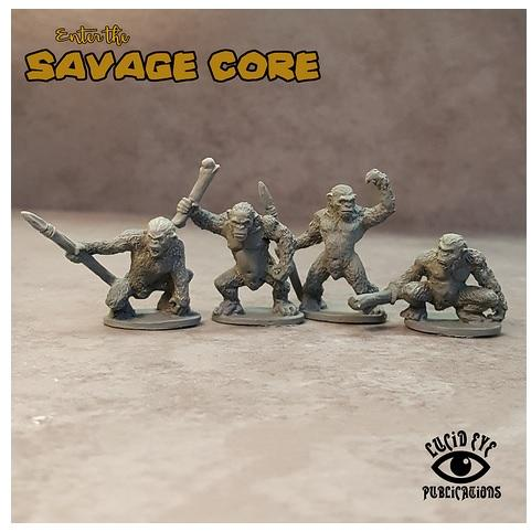 Savage Core: Simian Bods 2